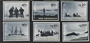 STAMP STATION PERTH Ross Dependency #L73-L78 Discovery Expo. Set  MNH CV$14.00