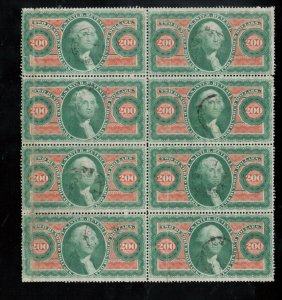 USA #R102c Used Remarkable Full Sheet