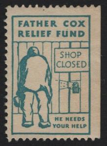 UNITED STATES Father Cox Relief Fund Cinderella   - BARNEYS