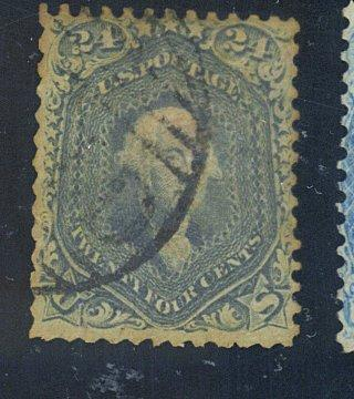 70B Used Steel Blue Fine Toned Havey Paper HR Cat$850