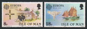 Isle of Man 191-192 sheets,MNH. EUROPE CEPT-1981,Crosh Cuirn,Ash Twigs,Harwest