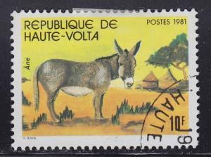 Burkina Faso 587 Donkey 1981