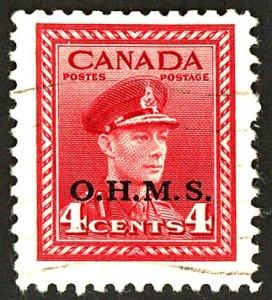 Canada #O4 USED