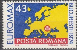 Romania #B435  MNH F-VF  (SU2018)