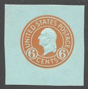 Doyle's_Stamps: Mint 1932 Scott #U531* Cut Square