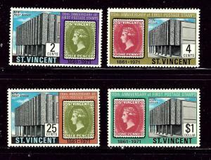 St Vincent 312-15 MNH 1971 set