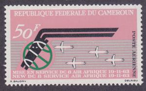 Cameroun C48 MNH 1963 Air Afrique Airmail Issue Very Fine