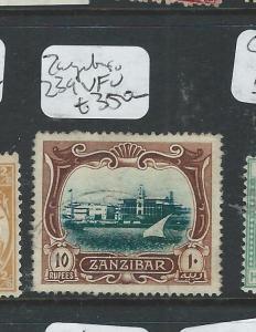 ZANZIBAR  (P2407B) 10R  SG 239   VFU