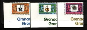 Grenada Grenadines-Sc#270-2-unused NH set-QEII-25th Coronation-1978-