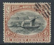 North Borneo  SG 103a Used  perf 15 please see scan & details