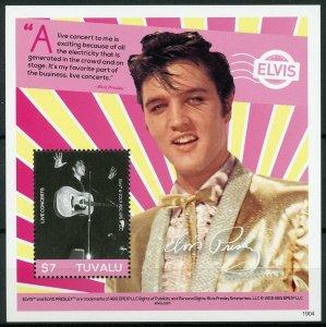 Tuvalu 2019 MNH Elvis Presley His Life in Stamps 1v S/S III Music Celebrities