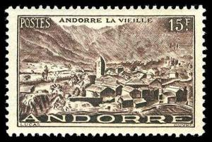 FRENCH ANDORRA 121  Mint (ID # 77317)