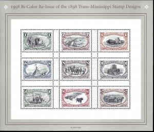 3209 Mint,OG,NH... Pane of 9... SCV $9.50