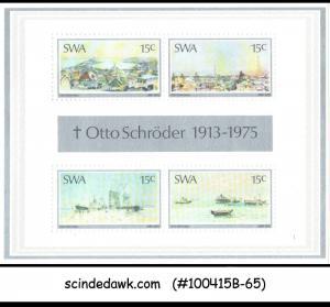 SOUTH WEST AFRICA - 1975 OTTO SCHRODER / PAINTINS - MIN. SHEET MINT NH
