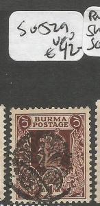 Burma Jap Oc SG J29 VFU (1csp)