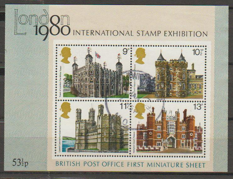 Great Britain SG MS1058  Used