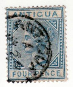 Antigua #15, Used, CV $19   ........   0260013