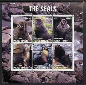 TIMOR SHEET MARINE LIFE SEALS
