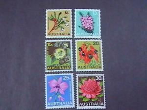 AUSTRALIA # 434-439------MINT/HINGED-----COMPLETE SET-----1968