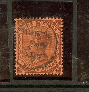 BRITISH EAST AFRICA (P3010B) QV ON INDIA  12A  SG58A  VFU