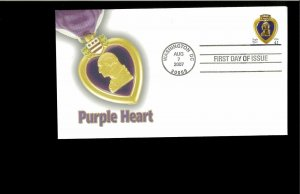 2007 FDC Purple Heart Washington DC