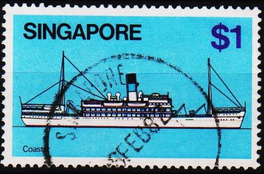 Singapore. 1980 $1 S.G.373 Fine Used
