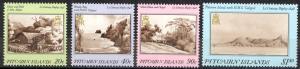 Pitcairn Islands Sc# 291-294 MNH 1987 Art