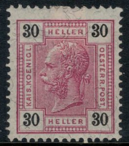Austria #100*  CV $55.00 Fresh, vibrant stamp