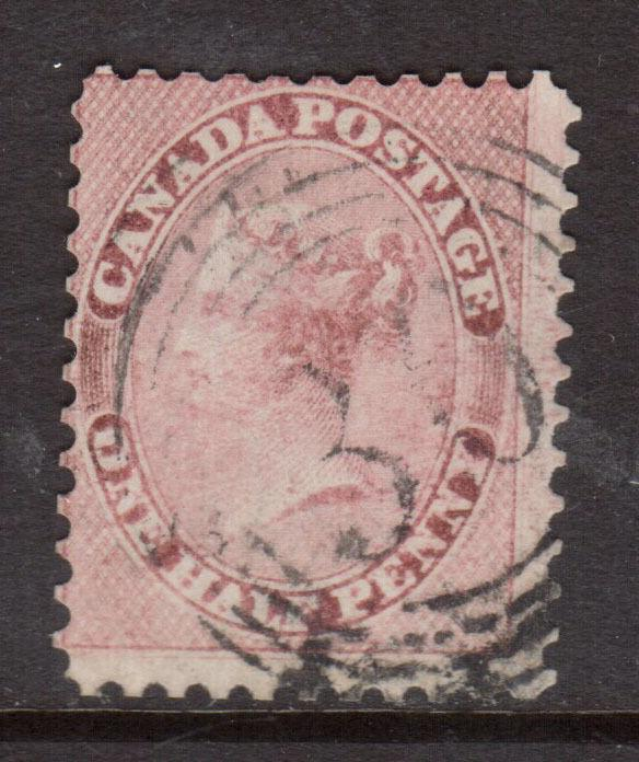 Canada #11 Used Fine With 4 Ring 30 Cancel