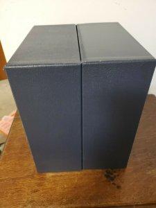 Scott Blue Slipcase Protection Cover For International Jumbo Binder (used)