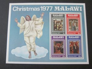 Malawi 1977 Sc 314a Christmas Religion set MNH