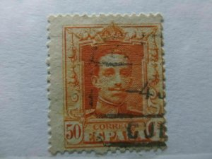 Spanien Espagne España Spain 1922-30 50c fine used stamp A4P12F215