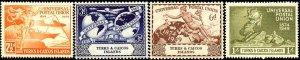 UPU, Universal Postal Union 75th Anniv, Turks & Caicos Islds SC#101-104 MNH set