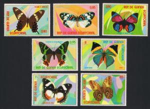 Equatorial Guinea MNH Set Gorgeous Butterflies