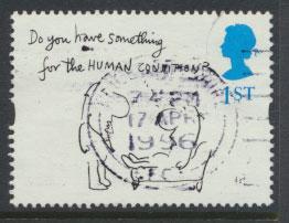 Great Britain SG 1907  Used  - Greetings Booklet - Cartoons