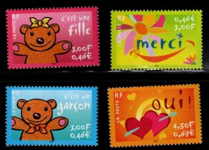 FRANCE Scott 2805-2808 MNH** stamp set