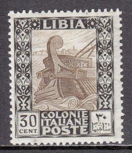 Libya - Scott #26 - MH - Patchy gum, couple short perfs, pencil/rev. - SCV $36