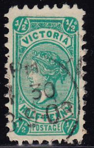 Australia Victoria - 1901 - Scott #193 - used Queen Victoria