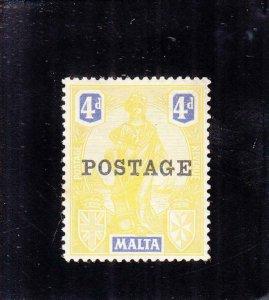 Malta: Sc #123, MH (35491)