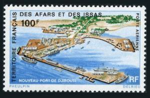 Afars & Issas C61,MNH.Michel 60. New Djibouti harbor,1972.