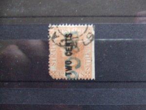 Straits QV 1882 2c on 32c pale red SG60 CV £300