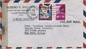 Dominican Republic 3c and 10c Centenary of Independence 1944 Ciudad Trujillo,...