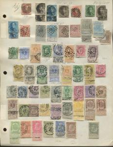 1851-1940 Belgium Mint & Used Postage Stamp Collection Album Pages Value $1,900