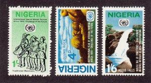 Nigeria Scott #232-234 MH