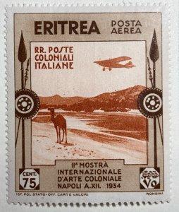 AlexStamps ERITREA #C3 XF Mint