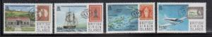 British Virgin Islands 590-3 Stamp on Stamp Mint NH