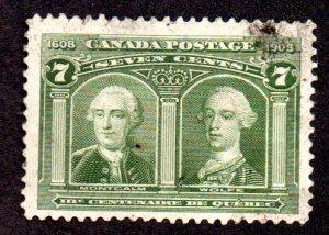 CANADA 100 USED THINS SCV $100.00 BIN $15.00 GENERALS