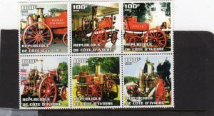 Cote D' Ivoires Fire Brigade