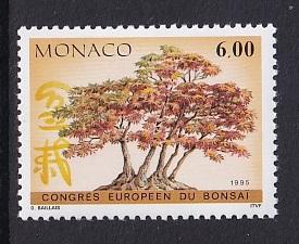 Monaco  #1942    MNH  1995  bonsai congress