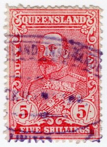 (I.B) Australia - Queensland Revenue : Stamp Duty 5/-